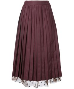 Muveil | Under-Layer Pleat Skirt