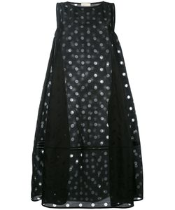 Wunderkind | Mesh Dot Tent Dress