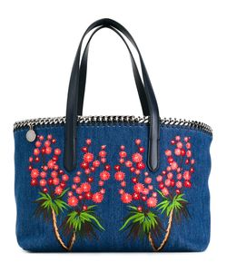 Stella Mccartney | Falabella Embroide Denim Tote Cotton/Metal/Artificial Leather