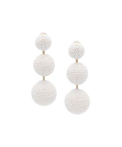 Rebecca De Ravenel | Classic Short Magnolia Earrings