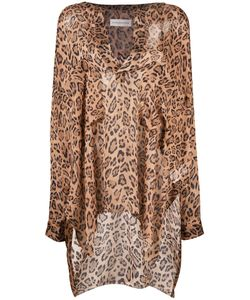 Faith Connexion | Leopard Print Top Size Small