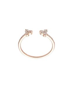 EF COLLECTION | Open Diamond Trio Ring 6