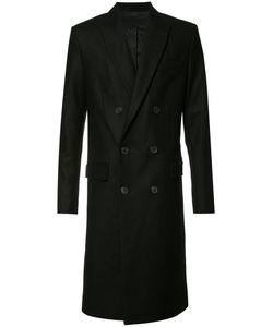 Ami Alexandre Mattiussi | Double Breasted Coat 46 Acetate/Cotton/Polyamide/Wool