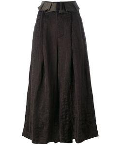 UMA WANG   Wide Leg Cropped Pants Size Small