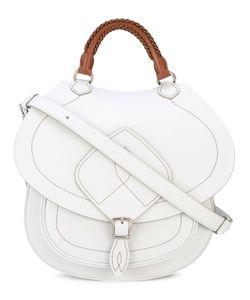 Maison Margiela   Top Handle Saddle Bag Leather