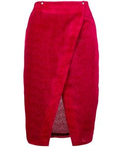 Roseanna | Textured Wrap Skirt 38