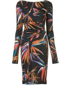 Emilio Pucci | Printed Fitted Dress 46 Viscose/Silk
