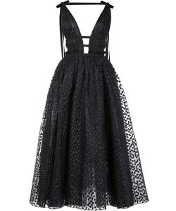 Carolina Herrera | Sequinned Fla Maxi Dress 6 Silk/Polyester