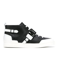 Moschino | Monochrome Hi-Top Sneakers 44