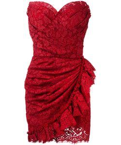 Dolce & Gabbana   Strapless Lace Dress 42 Cotton/Viscose/Polyamide/Cotton