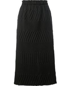 Issey Miyake | Chevron Quilted Skirt Size