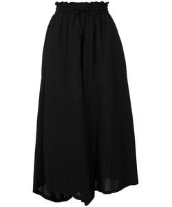Y'S | Wide-Legged Cropped Trousers Size 2