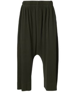 HOMME PLISSE ISSEY MIYAKE | Pleated Drop-Crotch Trousers Men