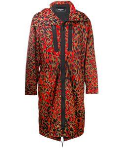 Dsquared2 | Leopard Print Parka Jacket