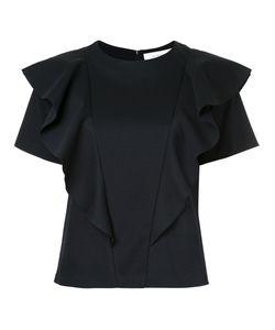 LE CIEL BLEU   Ruffle Panel T-Shirt Women