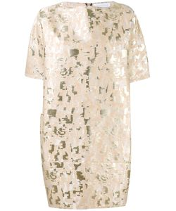 Gianluca Capannolo | Jacquard Dress 44 Cotton/Polyamide/Polyester/Metallized Polyester