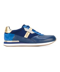 Dolce & Gabbana | Pannelled Sneakers 6.5 Calf Leather/Lamb