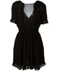 Just Cavalli | Sheer Detail Ruffled Dress 38 Viscose