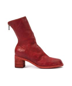 GUIDI | Rear Zip Ankle Boots