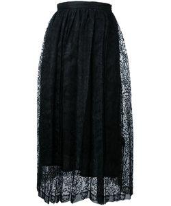 TARO HORIUCHI | Lace Detail Pleated Skirt Size