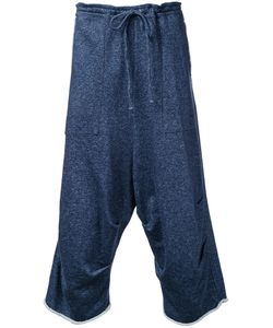 Forme D'Expression   Dropped Crotch Track Pants Size Small