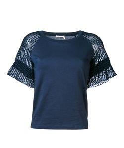 See By Chloe | See By Chloé Lace Raglan Sleeve T-Shirt