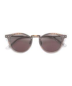 Bottega Veneta Eyewear | Intrecciato Cat Eye Sunglasses