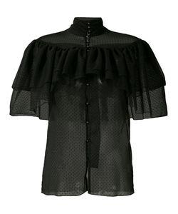 Rodarte | Прозрачная Рубашка С Оборками