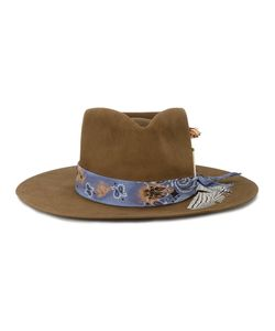 NICK FOUQUET | Feather Trim Hat Men