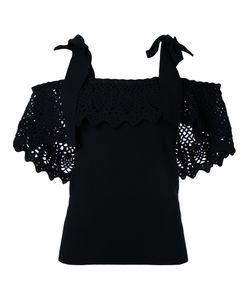 Irene | Ажурная Блузка С Открытыми Плечами