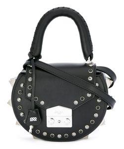 Salar   Round Stud Mini Shoulder Bag