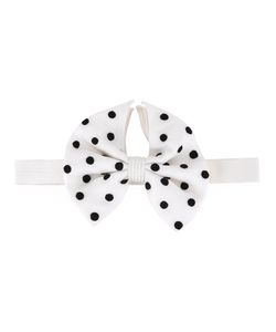 Jupe By Jackie | Dots Print Bow Tie Silk