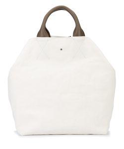 Isabel Benenato | Large Wash Bag Leather/Canvas