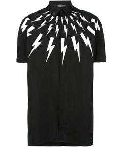 Neil Barrett | Рубашка С Молниями И Воротником