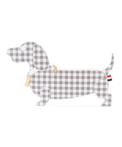 Thom Browne | Checked Dog Clutch