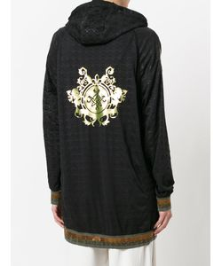 MR & MRS Italy | Embroidered Hooded Sweatshirt