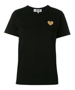 Comme des Gar ons Play | Comme Des Garçons Play Embroidered Heart T-Shirt Size Medium