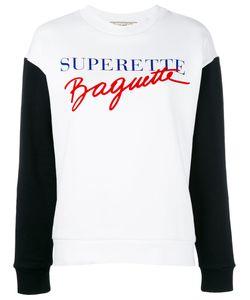 ÊTRE CÉCILE   Être Cécile Supertte Baguette Sweatshirt Medium Cotton