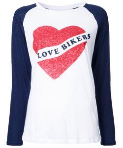Zoe Karssen | I Love Bikers T-Shirt Medium Cotton/Linen/Flax