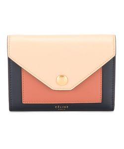 Céline   Colour Block Wallet