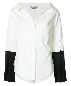 HELLESSY | Рубашка С Контрастными Манжетами Bessette