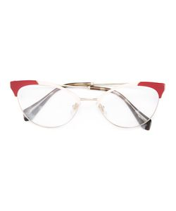 Miu Miu Eyewear | Cat Eye Glasses Metal