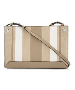 Rag & Bone | Striped Cross Body Bag Leather/Polyester