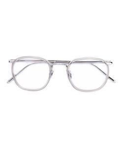 Linda Farrow   Oval Frame Glasses