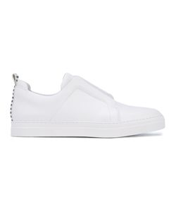 Pierre Hardy | Striped Detail Slip-On Sneakers Calf