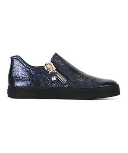 Stuart Weitzman | High Shine Trainers Womens Size 36.5 Patent Leather/Leather/Rubber