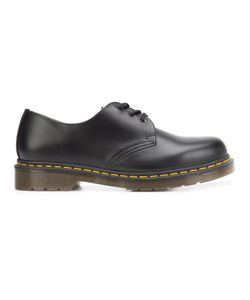 Dr. Martens | Stitch Detailing Derbies 12 Leather/Rubber