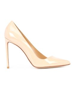 FRANCESCO RUSSO | Classic Pumps 41 Patent Leather/Leather