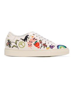 Paul Smith | Embroidered Motif Basso Sneakers Calf