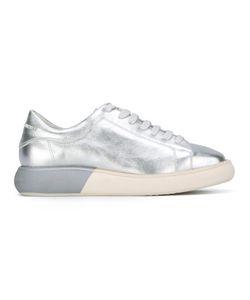 Manuel Barceló | Heel Logo Sneakers 37 Calf